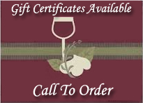 290 Wine Shuttle has gift certificates.